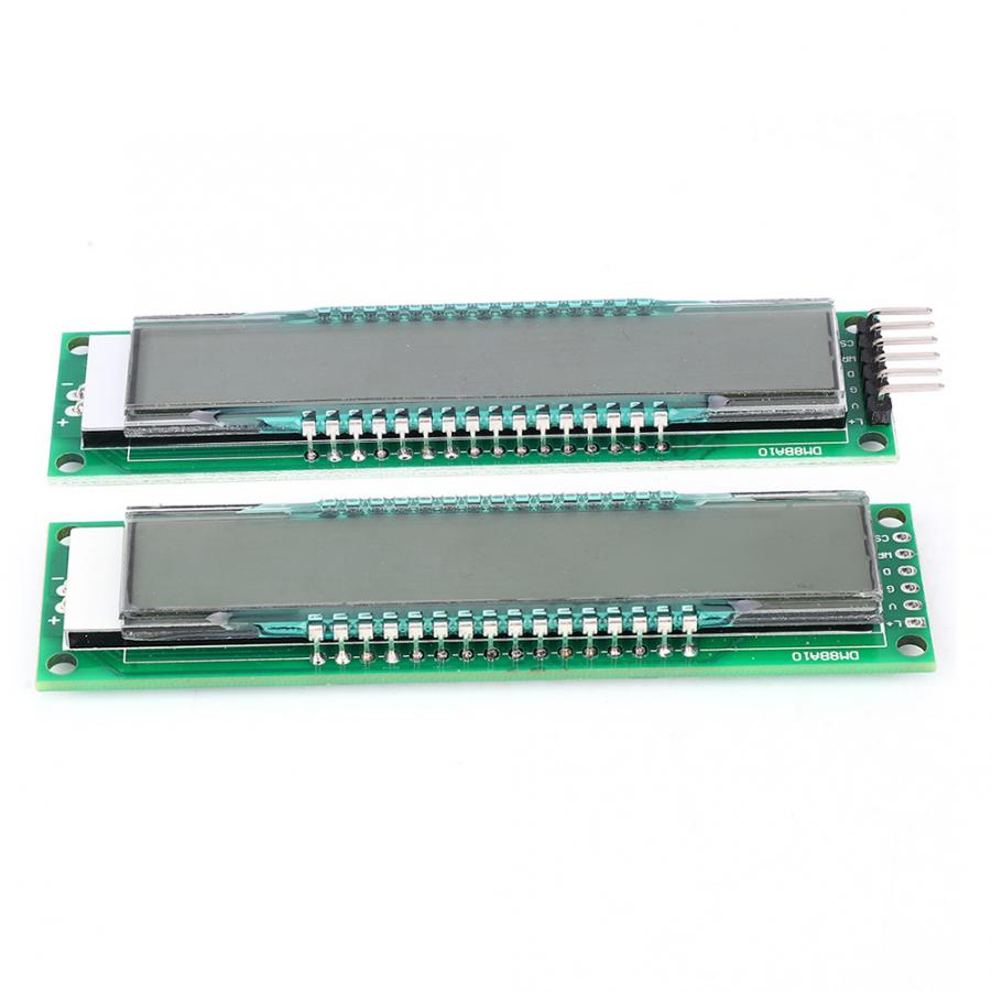 DM8BA10 10-Bit <font><b>16</b></font>-<font><b>Segment</b></font> LCD <font><b>Display</b></font> Panel <font><b>LED</b></font> Modul DC 5V TM1622 Chip TM1622 Kompatibel mit HT1622 image
