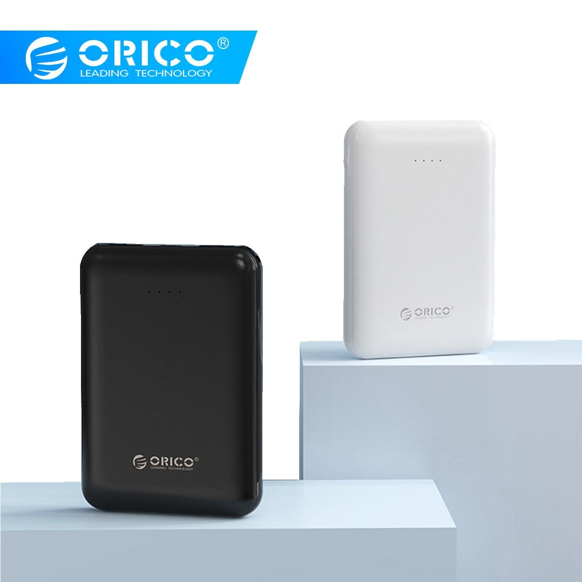 ORICO Mini Slim Power Bank 5000mAh Portable External Battery Mobile Powerbank USB Charging Poverbank For iphone Xiaomi Mi Bank|Power Bank| |  - title=