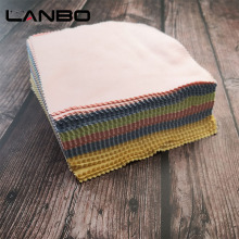 LANBO New 100pcs Glasses Cloth Microfiber Cleaner Cloths Cleaning Glasses Lens Clothes Eyeglasses Cl