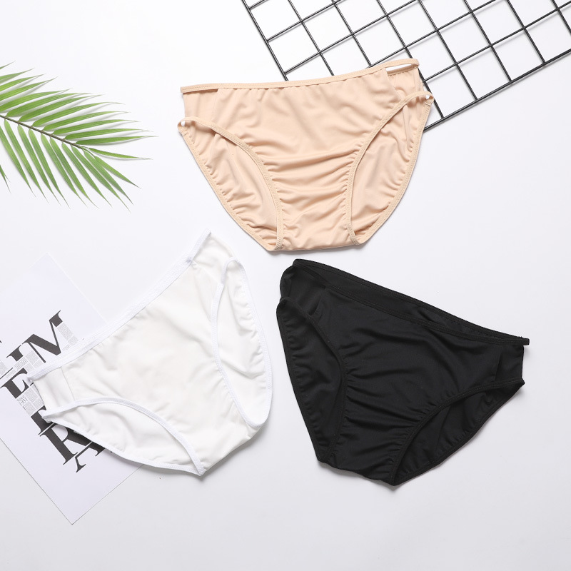 2019 South Korea Sexy Bikini Upgrade Leggings Beach Holiday Swimming Trunks Women's Anti-Exposure Base Swimming Trunks Women's