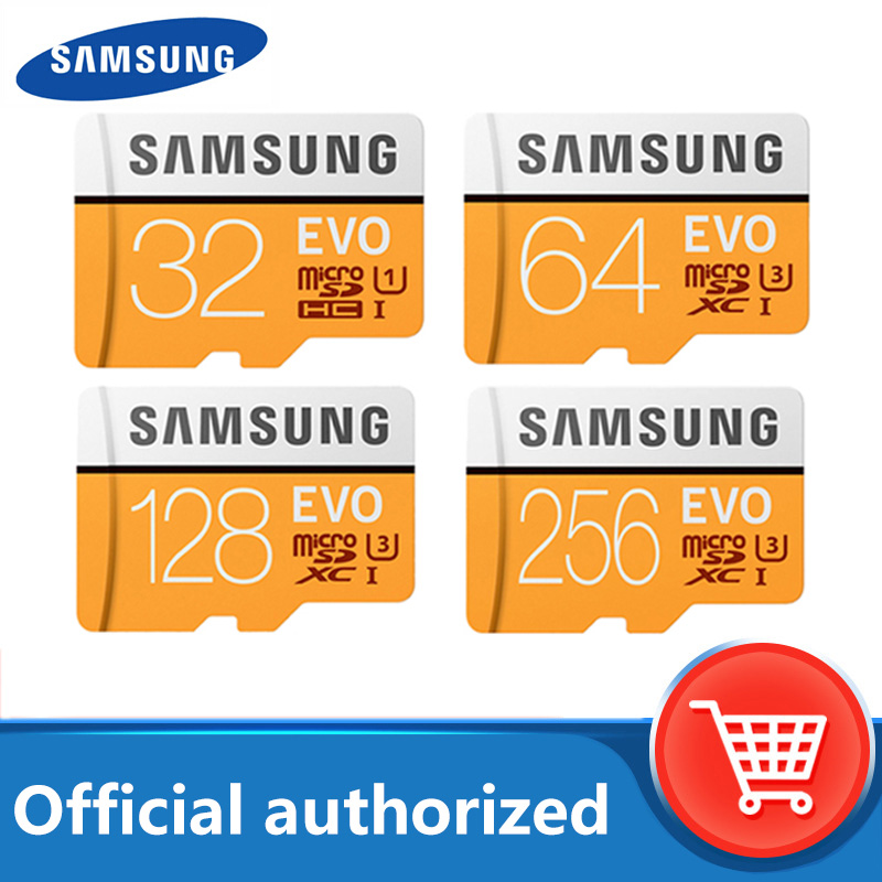 original samsung micro sd card high speed 64GB 128GB Class10 memory card SDXC UHS I 4K HD for driving recorder mobile phone card|Micro SD Cards| - AliExpress