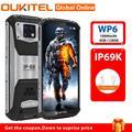 Смартфон OUKITEL WP6, IP68, IP69K, Android 9,0, 10000 мАч, 6 + 128 ГБ, 6,3 дюйма, тройная камера 48 МП, 4G