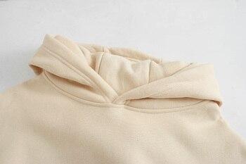 toppies Loose Oversize Hoodies Woman Sweatshirt autumn winter Female fleece hoodies 2020 women Sweat-shirts 4