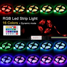 LED Strip RGB 220V US/EU Plug 1M 2M 3M 4M 5M 2835 5V USB LED Strip Light With Remote TV Backlight Ambilight Lamp Rope Flashing цена и фото
