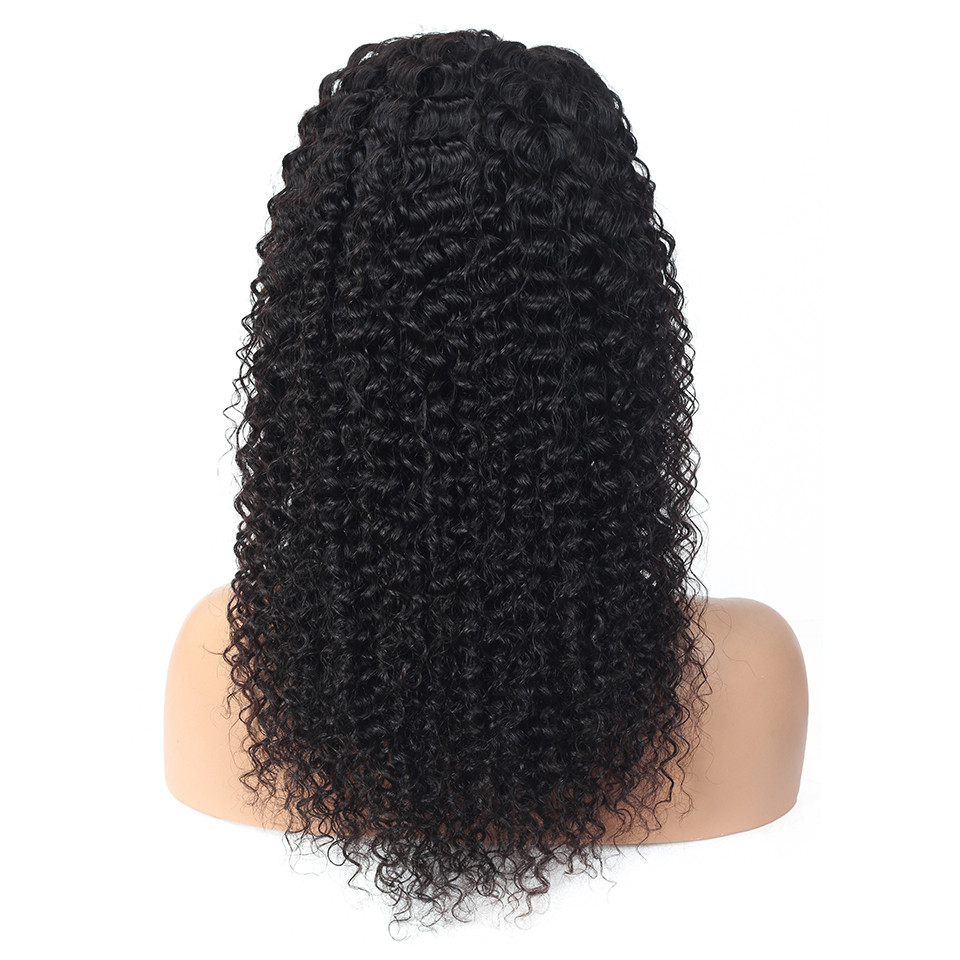 Curly Lace Front  Wigs  Preplucked  Deep Curly 13x4 Lace Wig 360 Lace Frontal Wigs 4