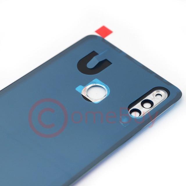 For Huawei P30 Lite Back Battery Cover Nova 4e Rear Glass Door Panel Case For Huawei P30 Lite Battery Cover+Camera Lens Replace 6