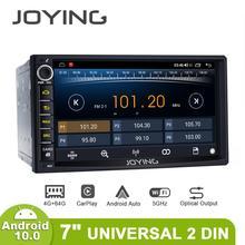 7 אינץ לרכב רדיו 2din אנדרואיד 10 אוניברסלי ראש יחידה עם מסך מולטימדיה נווט 4GB + 64GB Autoradio bluetooth 4G Carplay