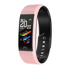 цены F6 Smart Bracelet Colorful Screen Ip67 Water Resistant Bluetooth Heart Rate Monitor Compatible With Ios Android