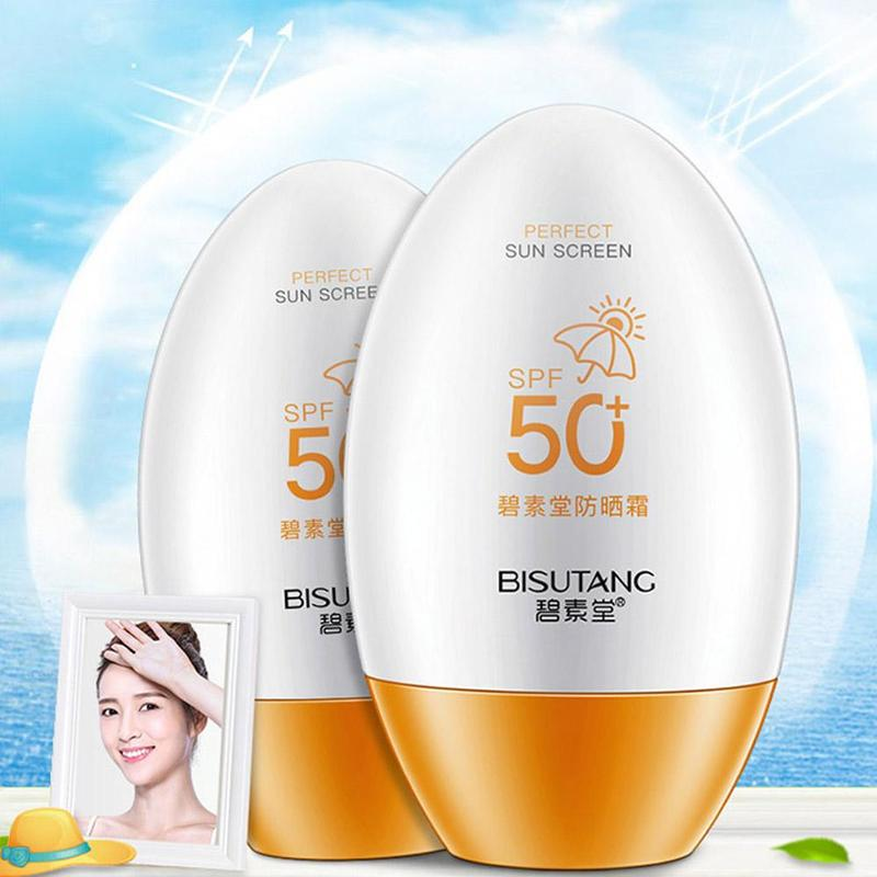 Spf50pa++ Hyaluronic Acid Isolation Sunscreen Cream Face Skin Care Concealer Skin Whitening Contour Cream Base Foundation