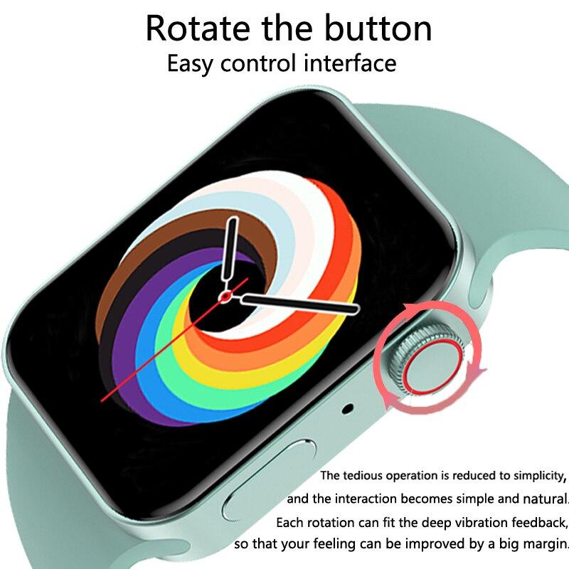 CHYCET Original IWO Series 7 Smart Watch Men 1.82 Inch HD Screen Dial call Smartwatch Women Heart Rate Monitor Watch PK HW22 W46 3