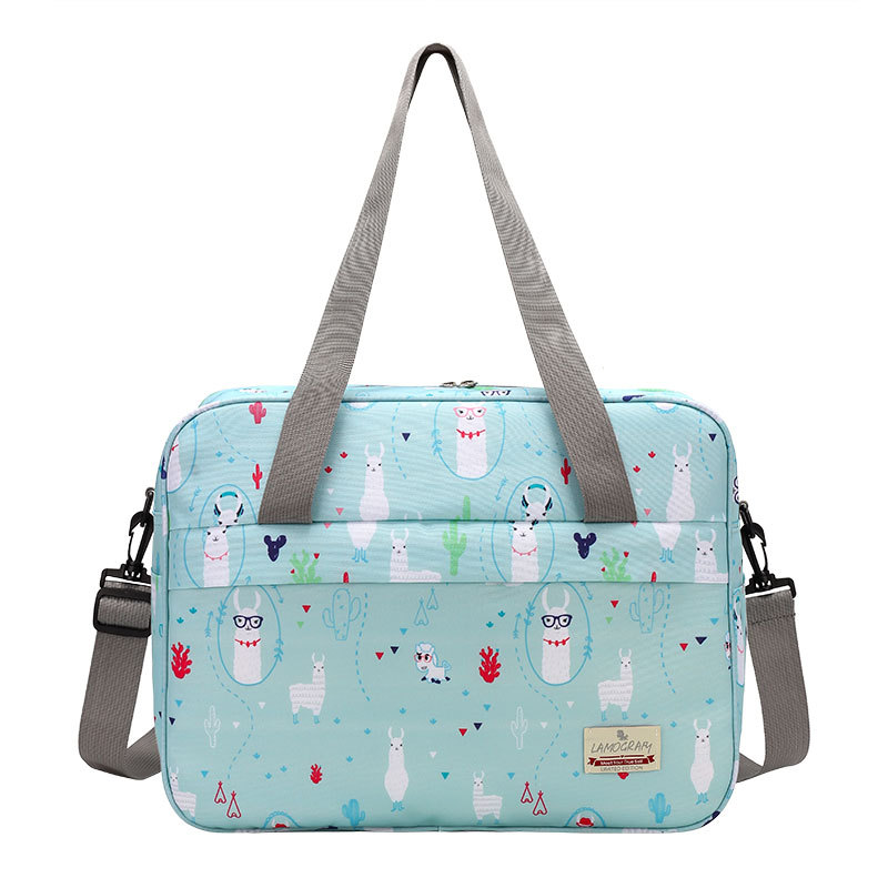 Multi-function Mummy Bag Large Capacity Maternity Nappy Bag Portable Diaper Bag Fashion Cartoon Mom Bag Two Sizes Nursing Bag