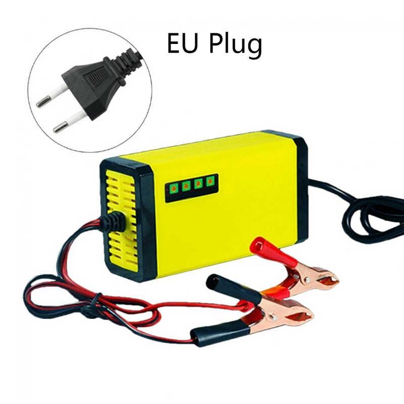 Màn Hình Hiển Thị LED Xe Máy Tự Động Thông Minh Pin Sạc EU/Mỹ Cắm Di Động 12V Sạc Adapter Nguồn Điện