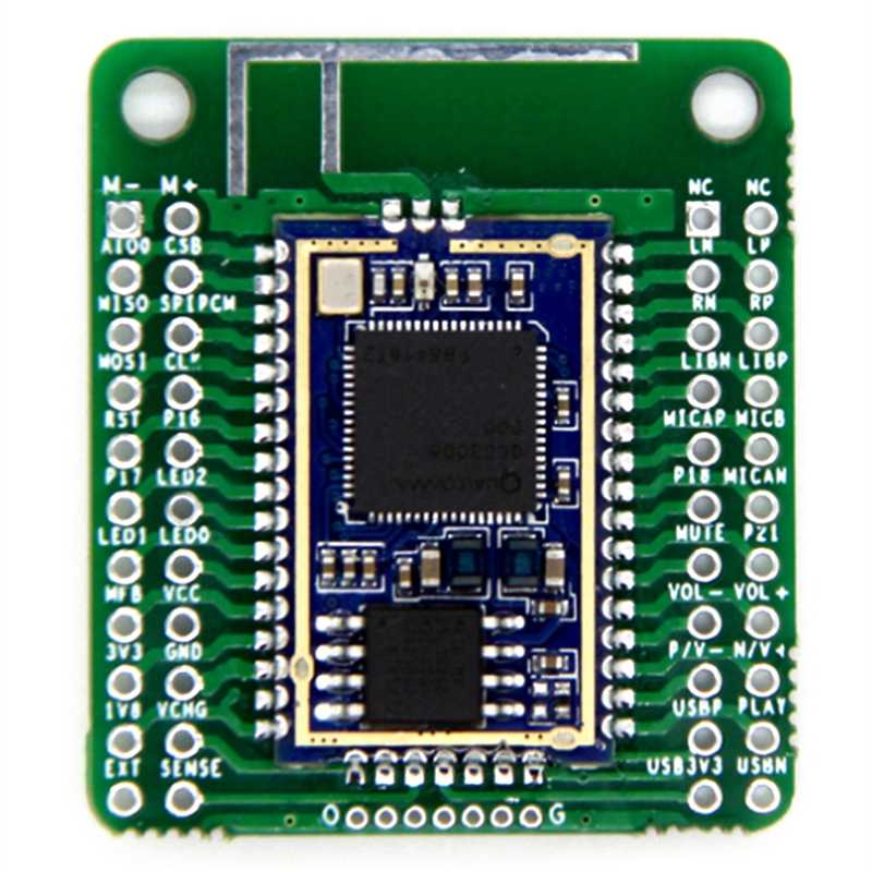 QCC3008บลูทูธV5.0ต่ำบลูทูธโมดูลเสียงAPTX LL LosslessการบีบอัดTWS I2S