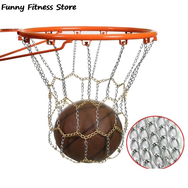 1 шт. железная цепочка для баскетбола, ободок для баскетбола, Высококачественная профессиональная подвесная сетка, универсальная сетчатая ...