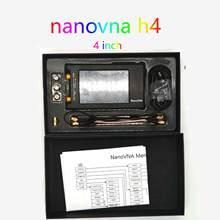 NanoVNA-H4 4 inch Vector Network Analyzer Antenna Analyzer Shortwave MF HF VHF UHF Talent