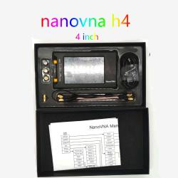 NanoVNA-H4 4 inch Vector Network Analyzer Antenna Analyzer Shortwave MF HF VHF UHF Talent