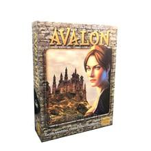 Avalon Jeu de Société la Résistance Jeux de Table Edition Anglaise Haute Qualité 5-10 Joueurs Jeu de Fête