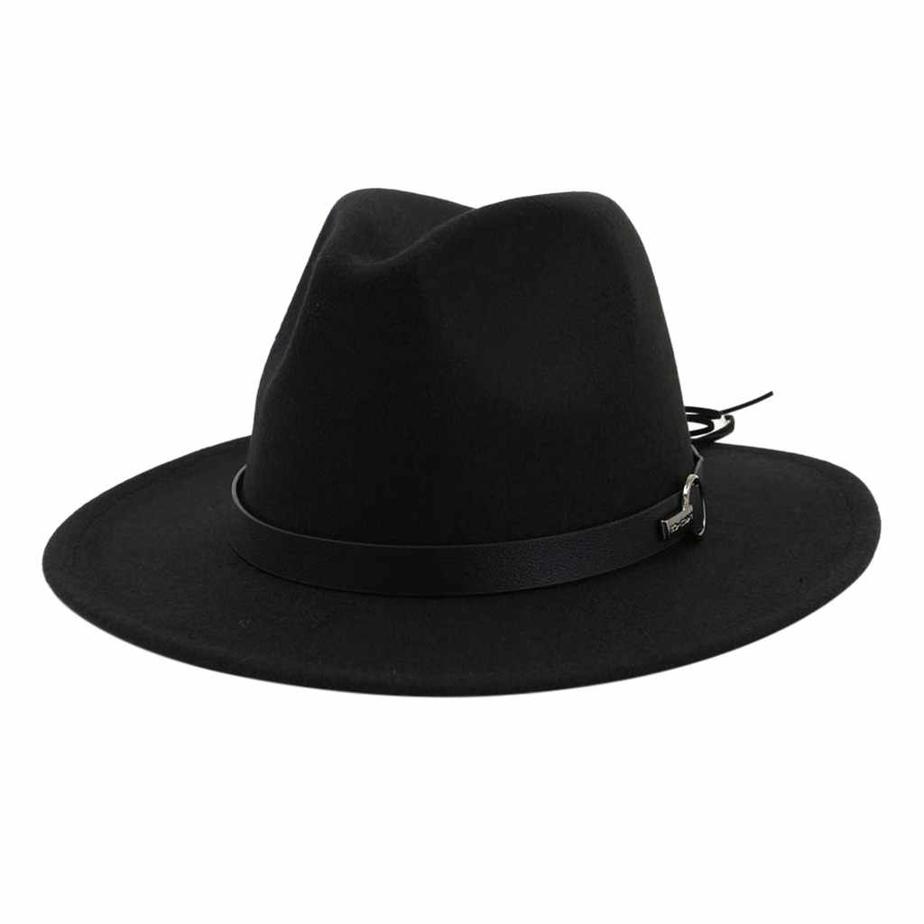 Bucket Hat Men Women Vintage Wide Brim Fisherman Hat with Belt Buckle Adjustable Outbacks Hats Casquette Chapeu Gorra Hombre