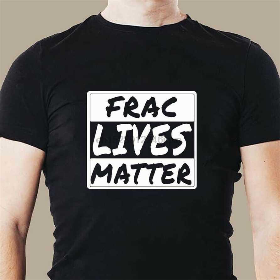Giacimento di petrolio Frac Vita Importa Roughneck Trapano A Olio di Vita di Patch Mens T Shirt Più I Vestiti di Formato Camicia di T