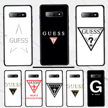 For Samsung S10 Phone Case by guess