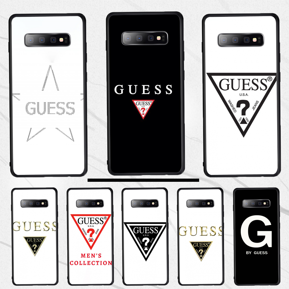 For Samsung S10 Phone Case by guess For Samsung S10 S10e S10Plus S9 S9Plus S8 S7 S6 edge plus