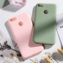 Soft Silicone Yellow Case For Xiaomi Mi A1 Case Xiaomi Mi 5X Matte Candy Soft TPU Cover For Xiaomi Mi A1 MiA1 Mi 5X Mi5X 5.5