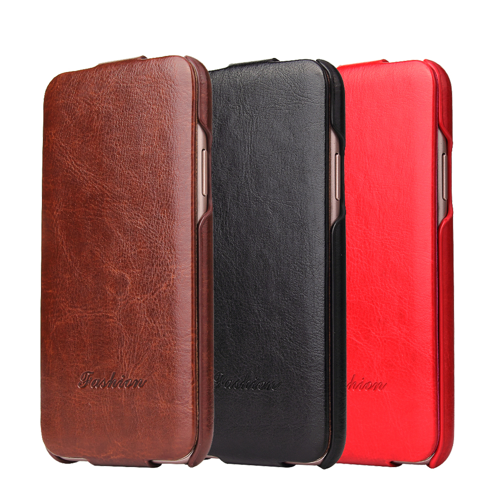 Luxury R64 PU Leather Flip Case για iPhone 7 8 X Xs Xr XS Max Full Cover High Quality Coque