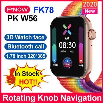 finow-fk78-smartwatch-2020-pk-w56-reloj-inteligente-watch-1-78-inch-bluetooth-call-sport-fitness-smart-watch-for-android-ios