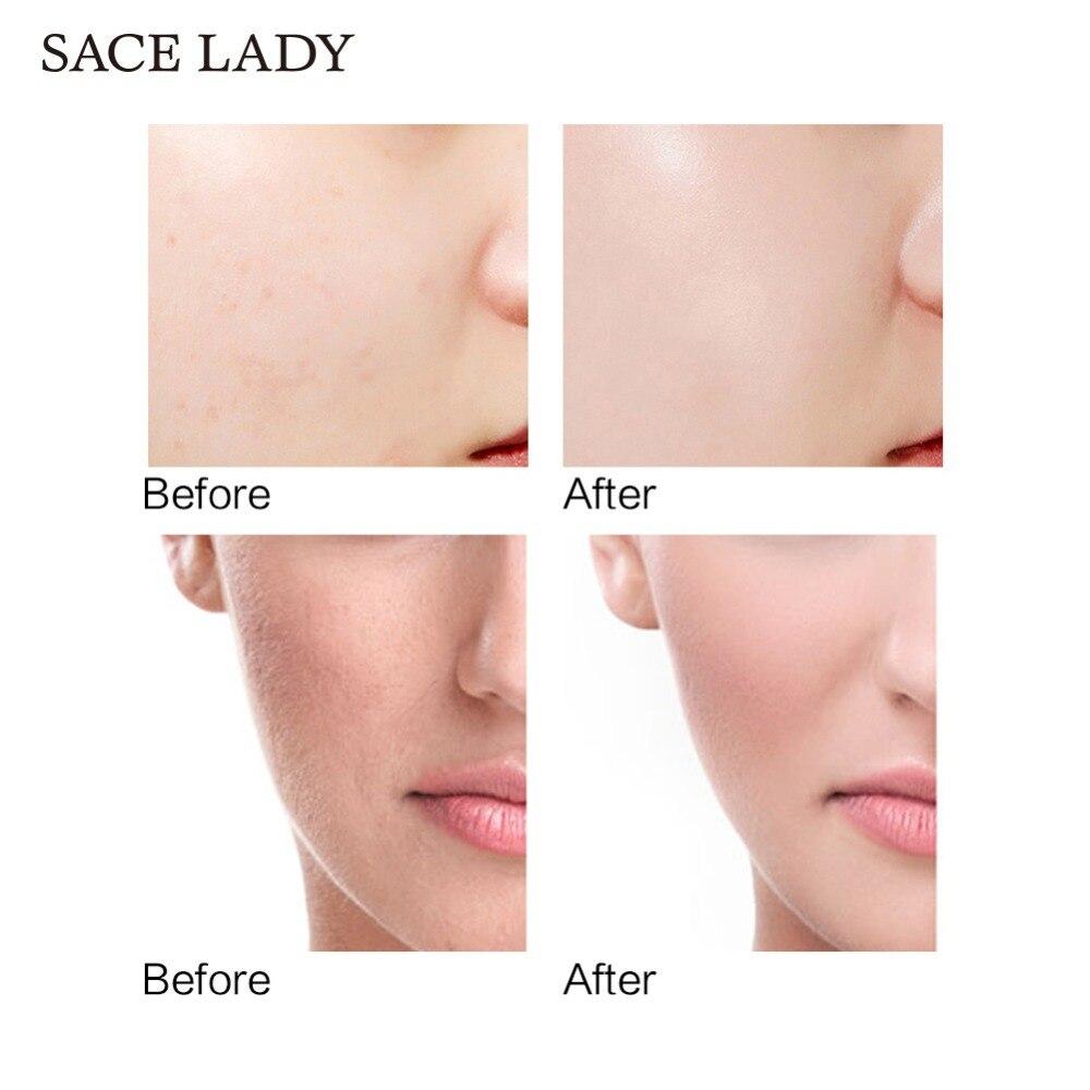 Baza twarzy podkład Płyn do makijażu matowy rozjaśnić fundacja podkład kosmetyczny drobne linie kontrola oleju krem do twarzy TSLM2 6