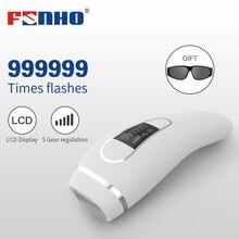 FUNHO 999999 Flash Professional IPL Epilator Permanent Laser Hair Removal Device