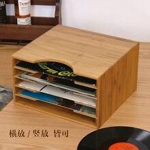 CD Rack Wood Receiving Creative Display Rack Dvd Film Rack Cd Storage Cabinet Box