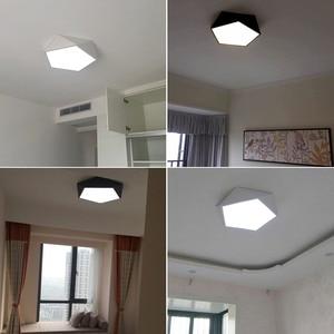 Image 5 - Creative Geometric Art Led Lighting Ceiling Lamp for Sitting Room Lamp Study Corridor Balcony Ceiling Lighting