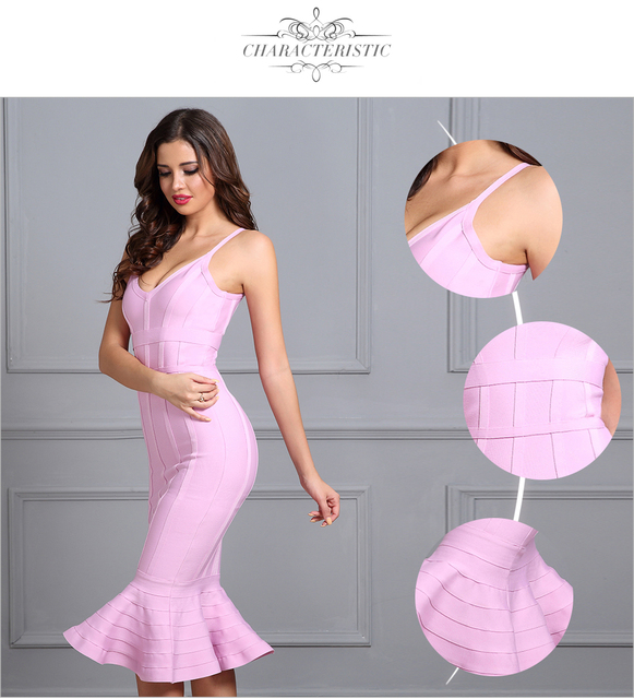 Seamyla летние Бандажное Платье женское сексуальное платье с