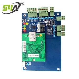 Image 3 - Dört kapı ağ erişim kontrol paneli kurulu yazılım ile iletişim protokolü tcp/ip kartı Wiegand okuyucu 4 kapı kullanımı