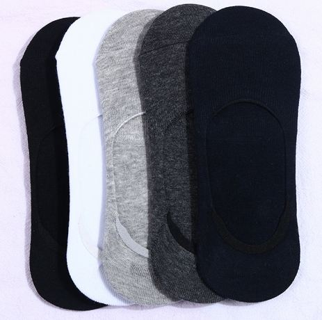 Ani-20 Men Socks Invisible Slippers  Sock Casual  Cotton