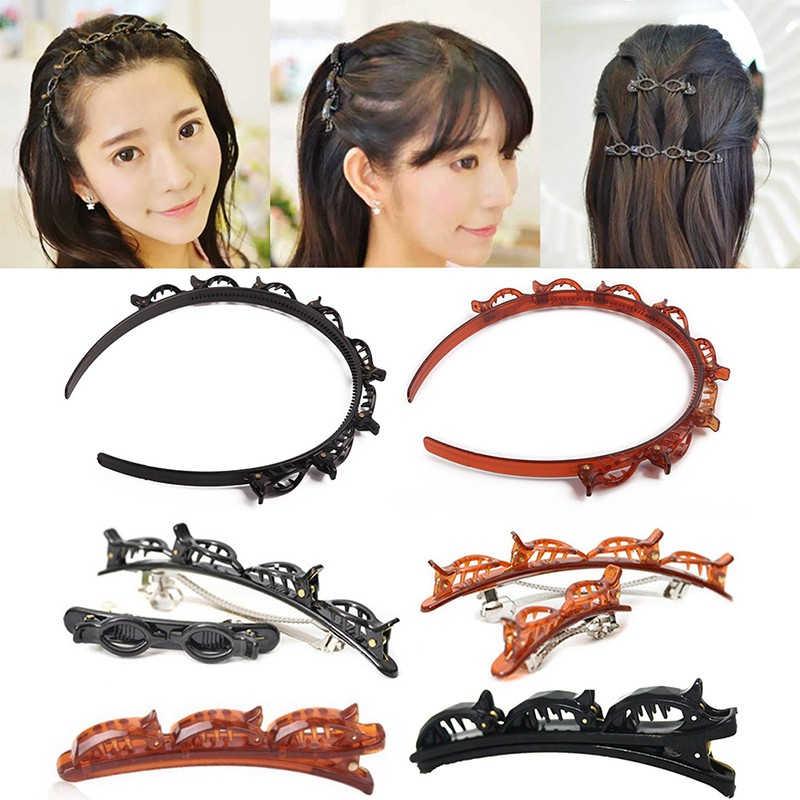 Fashion Women Metal Hair Clip Hairband Pin Barrette Hairpin Headdress Jewelry LD