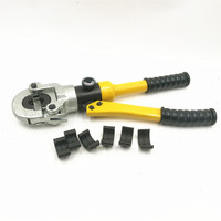 Hydraulic Pex Pipe Tube TH Mold 16 20 26 32 Crimping Tool CW 1632 Floor Heating Pipe Plumbing Pipe Pressure Pipe Clamp 10T