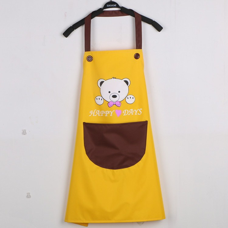 Hair Salon Work Assistant Work Clothes Barber Hairdresser Hot Dye For Waterproof Female Clothing Hair Apron Apron