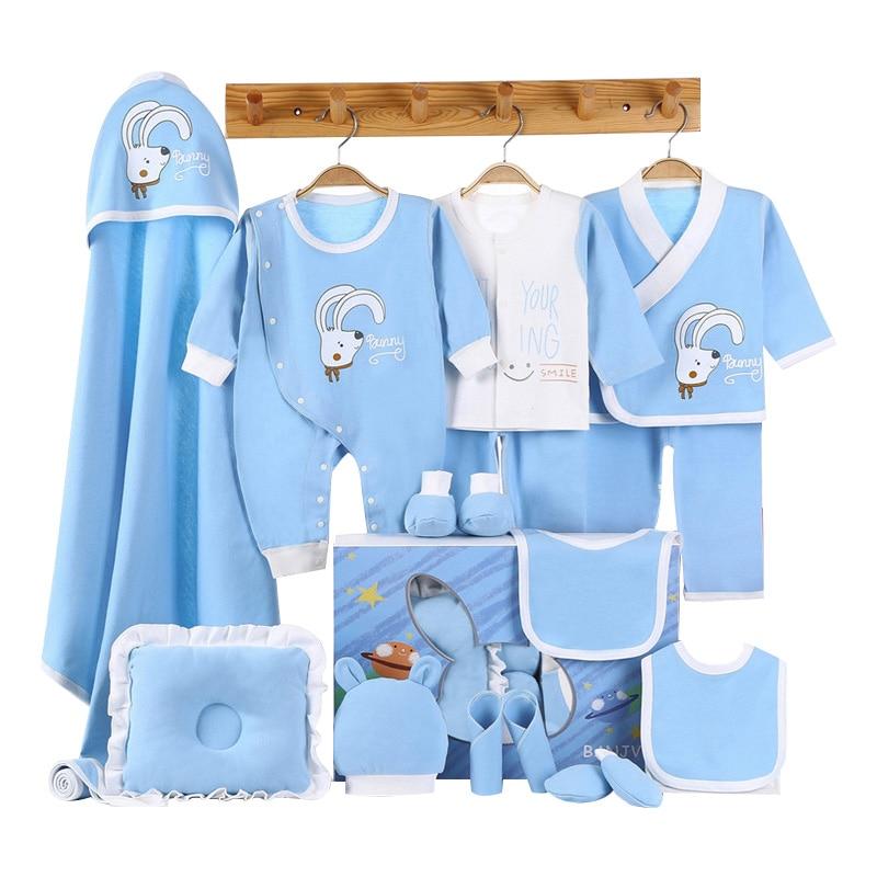 Image 5 - Elephant Newborn Baby Girl Clothes Cotton Print New Born Baby Boy Clothes Infant Clothing Baby Outfit Newborn SetClothing Sets   -