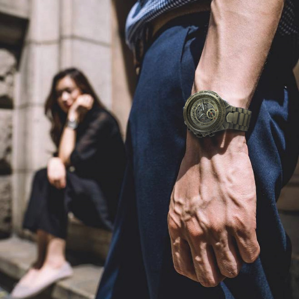 H4c3bba3ec4a94ec7abe1c0d1202ab177M WINNER Official Vintage Fashion Men Mechanical Watches Metal Strap Top Brand Luxury Best Selling Vintage Retro Wristwatches +BOX