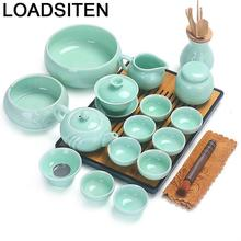 Cucina Chinese Afternoon Kung Fu With Infuser Garden Teaset Dekoration Home Decoration Accessories Pot Teapot Teaware Tea Set