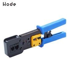 Сквозные плоскогубцы для сетевого кабеля перфорированные обжимные