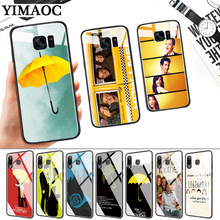 how i met your mother quotes Glass Case for Samsung S7 Edge S8 S9 S10 Plus S10E Note 8 9 10 A10 A30 A40 A50 A60 A70 стоимость