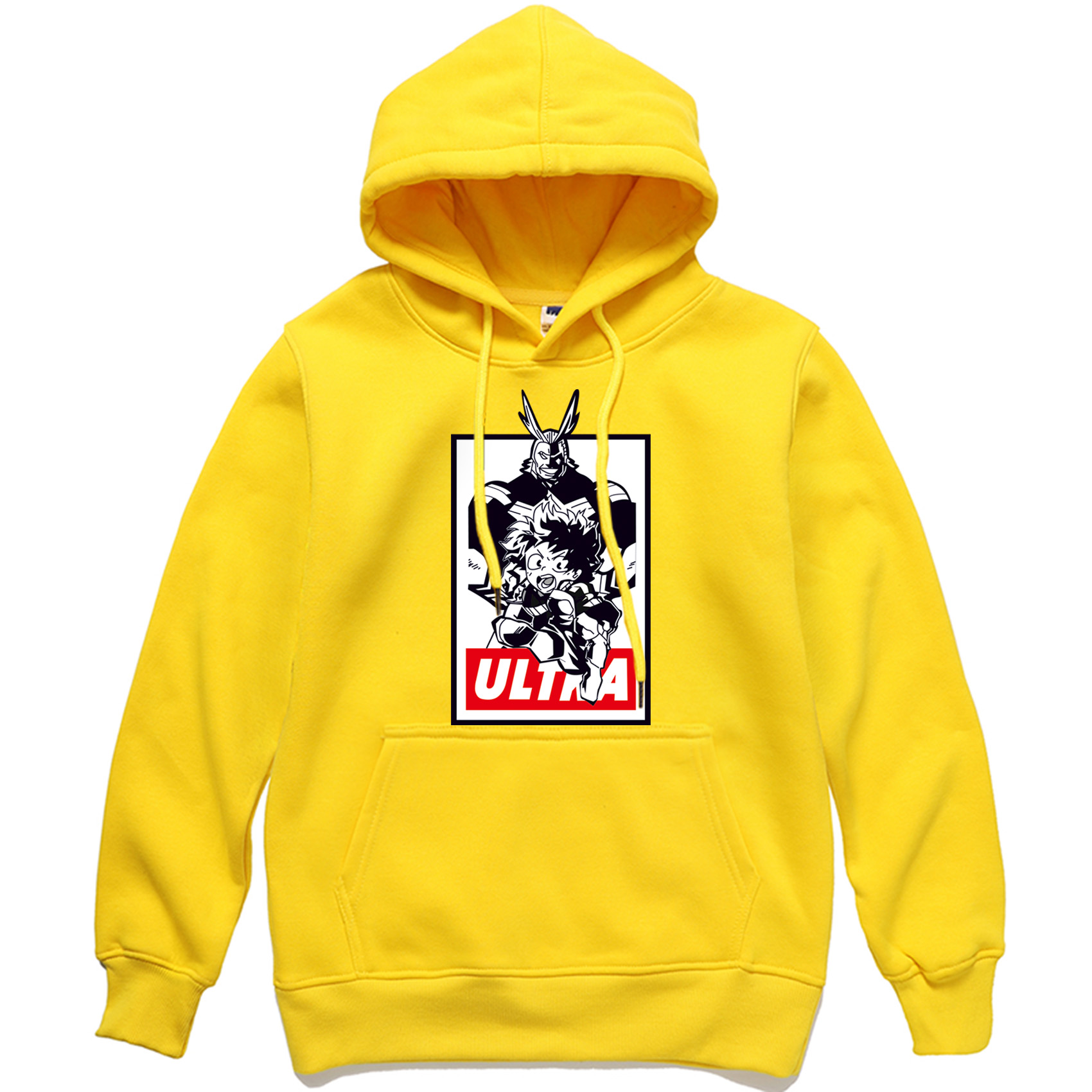 2019 New Arrival Men Hoodies My Hero Academia All Might Midoriya Izuku Pullover Male Hip Hop Streetwear Hoody Hipster Tracksuit