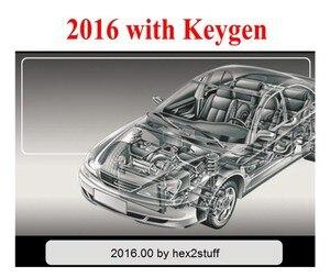 Image 4 - 2021 أحدث 2017.R3 R3 برنامج KEYGEN دعم وظيفة ISS ل vd tcs cdp vd ds150e cdp ل delphis obd2 الماسح الضوئي لشاحنة سيارة