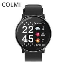 COLMI ساعة ذكية CW8 الرجال النساء ضغط الدم الأكسجين مراقب معدل ضربات القلب الرياضة المقتفي Smartwatch IP68 ربط IOS أندرويد