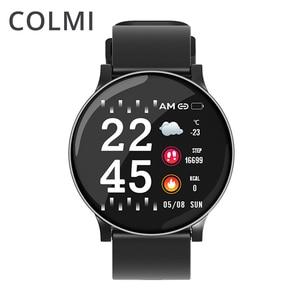 Image 1 - Colmi relógio inteligente cw8 mulheres dos homens pressão arterial oxigênio monitor de freqüência cardíaca esportes rastreador smartwatch ip68 conectar ios android