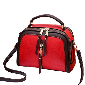 fashion rivet casual shoulder bag messenger bag retro simple women bag handbag ladies flap motorcycle bag 18b9 2020 Fashion Women Shoulder Bag Personality Ladies Bag Casual Backpack Small School Bag Handbag Shoulder Vintage Messenger Bag