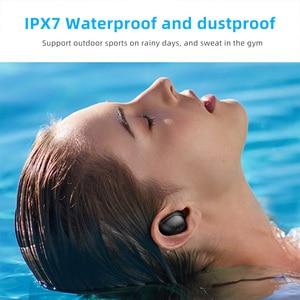Image 2 - TWS Wireless Earphones Wireless Earbuds Earphones Mini Waterproof Headfrees with 2200mAh Power Bank For All Phone