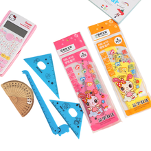 Ruler Math-Sets Giraffe Office-Stationery Drafting-Supplies Children's-Day-Gift Triangle